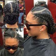 hip and beautiful ghana braids