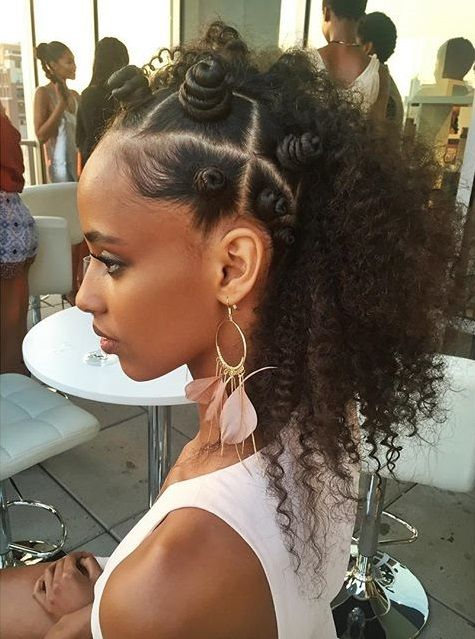 Bantu Knots Hairstyle Inspiration