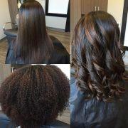 straighten natural hair