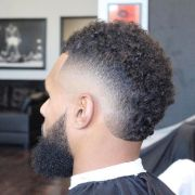burst fade haircuts men