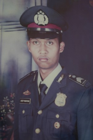 Asep Wahyudin, before the bombing.