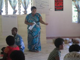 Members of three villages in Tikina Yale attend a three day FWCC gender, domestic violence, rape and sexual harassment workshop. Photo: FWCC Facebook