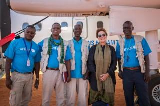 Field trip to Somali region in Ethiopia.