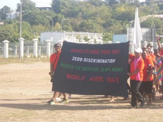 Anglicare PNG on World AIDS Day 2014