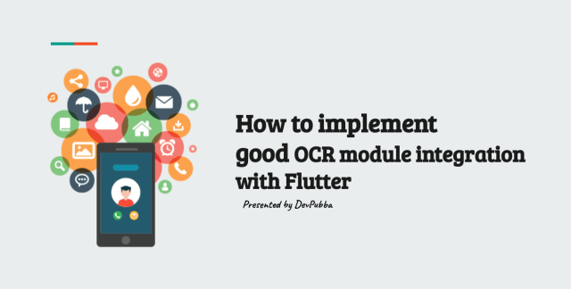 How to implement good OCR module integration with Flutter