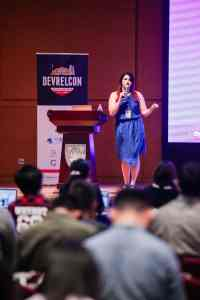 Jess West at DevRelCon China 2018