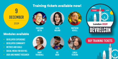 DevRelCon London 2019 training