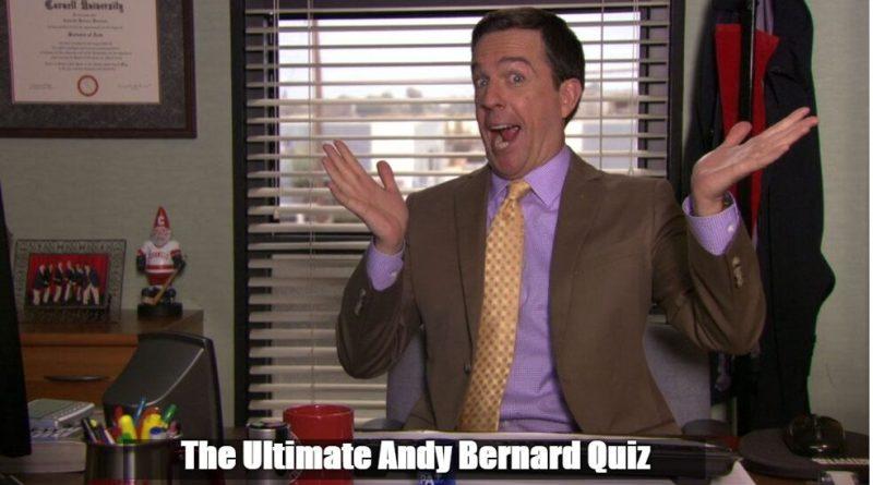 The Ultimate Andy Bernard Quiz