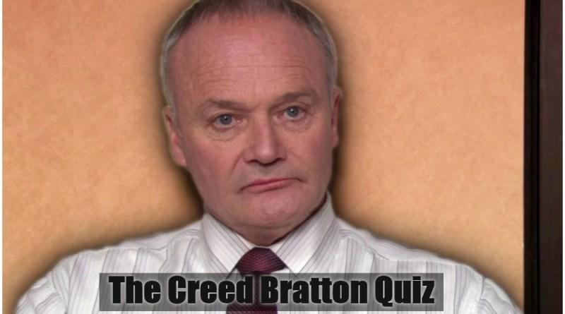 ultimate Creed Bratton quiz