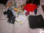 the loot...