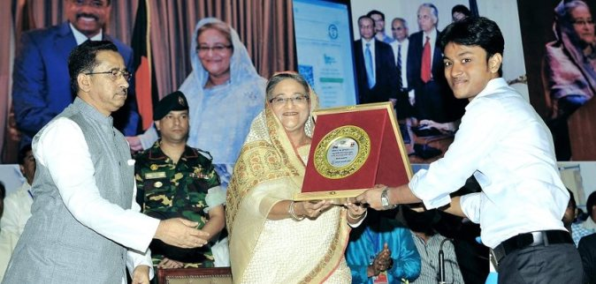 DevsTeam Awarded by Prime-minister Bangladesh