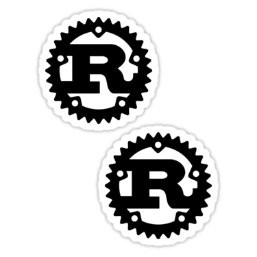 Rust Stickers and T-shirts — DevStickers