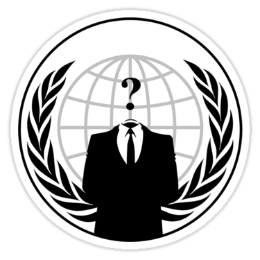 Anonymous Stickers and T-shirts — DevStickers