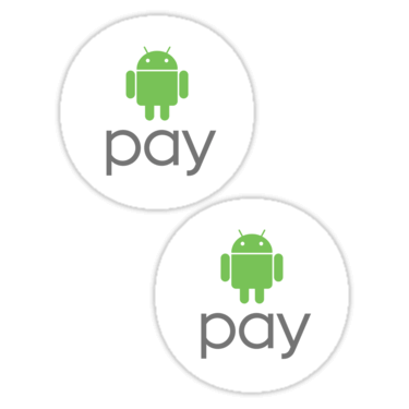 Android Pay Stickers ×2 — DevStickers