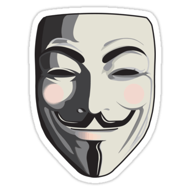 Guy Fawkes Stickers and Tshirts  DevStickers