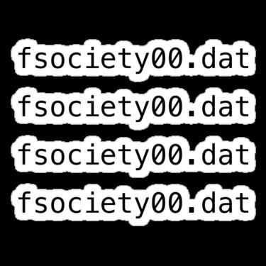 fsociety00.dat Sticker — DevStickers