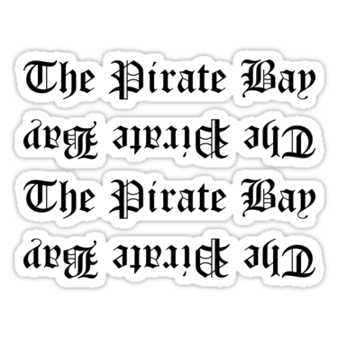 The Pirate Bay Stickers and T-shirts — DevStickers