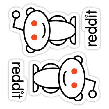 Reddit Stickers ×2 — DevStickers