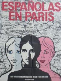 Portada de la película: Españolas en Paris