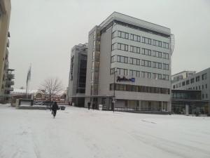 Oslo venue snow