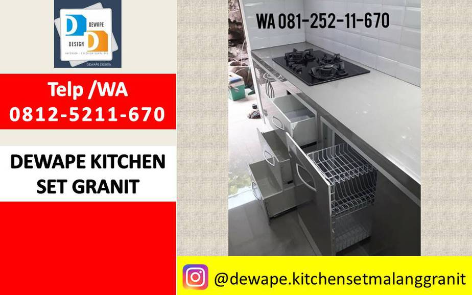 Kitchen Ste Granit Malang