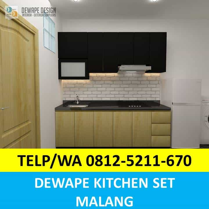 Kitchen Set Sederhana Malang