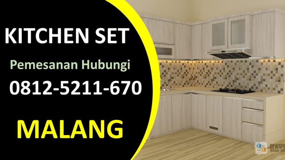 Harga Kitchen Set Mewah di Malang, Kitchen Set Malang