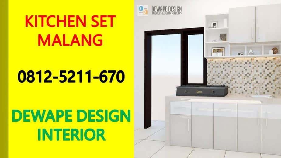 Kitchen set di kota malang, kitchen set malang, kitchen set minimalis malang