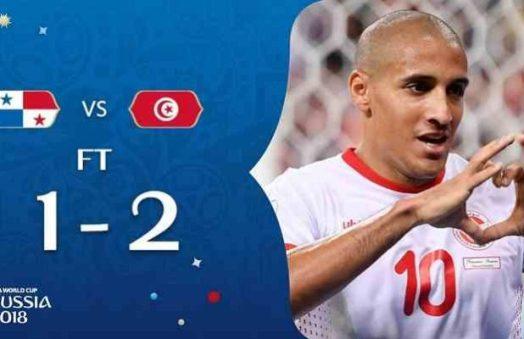 hasil Panama vs Tunisia piala dunia 2018