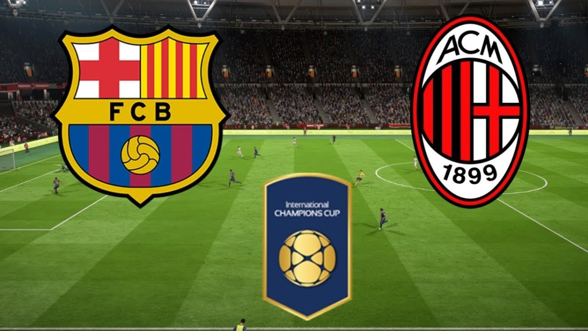 Hasil Turnamen ICC; AC Milan vs Barcelona, Skor 1-0