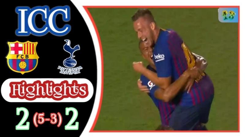 Barcelona vs Tottenham- skor 5-3
