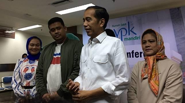 Presiden Joko Widodo Mendapat Cucu Perempuan