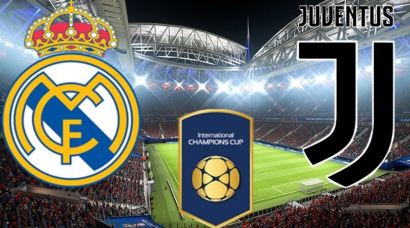Turnamen ICC- Real Madrid vs Juventus