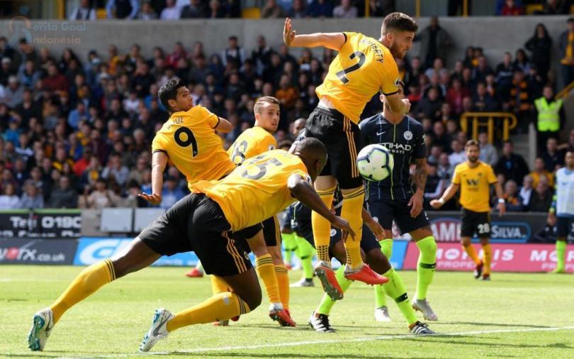 Wolverhampton telah berhasil menahan imbang Manchester City
