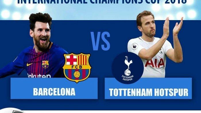 Barcelona Kalahkan Tottenham Melalui Adu Penalti