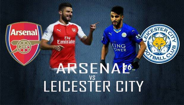 Hasil Arsenal Vs Leicester City