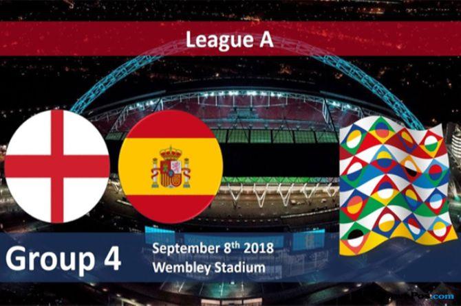 Hasil Nations League antara Spanyol vs Inggris