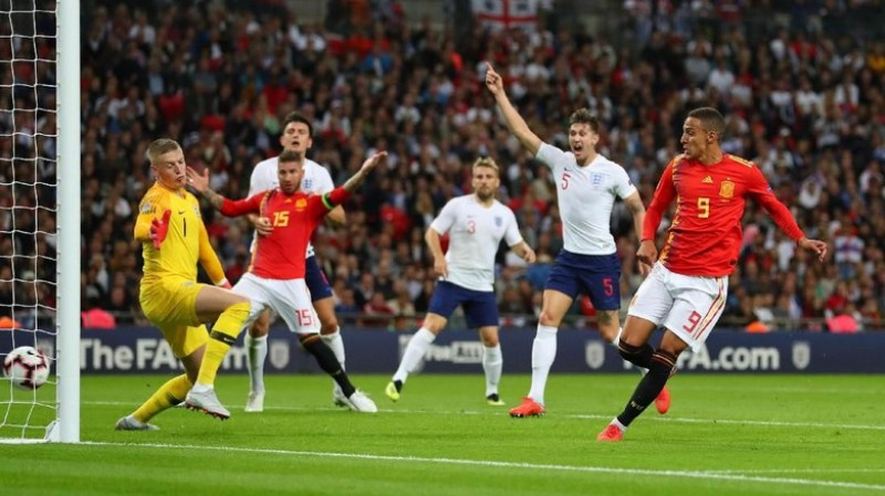 Nations League antara Spanyol vs Inggris