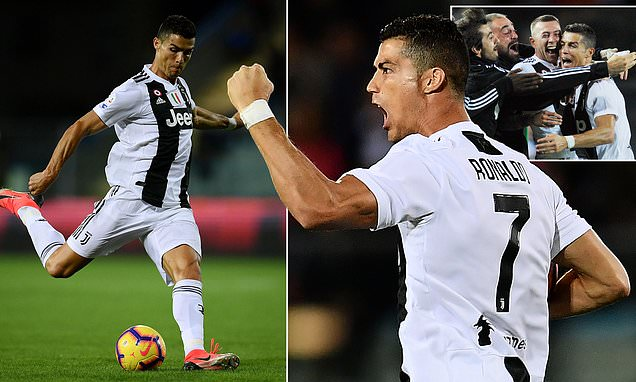 Ronaldo Menjadi Pahlawan Bagi Juventus Saat Melawan Empoli