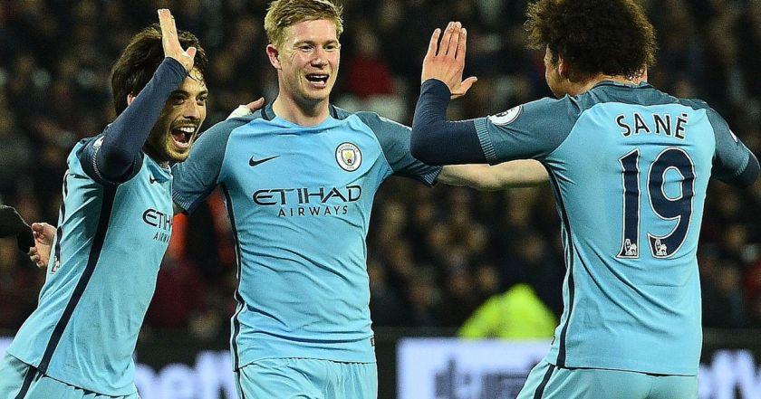 Man City 4-0 West Ham