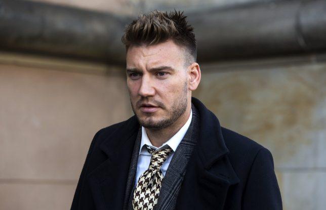 Nicklas Bendtner: Menolak Bandingnya dalam kasus menyerang seorang sopir taksi