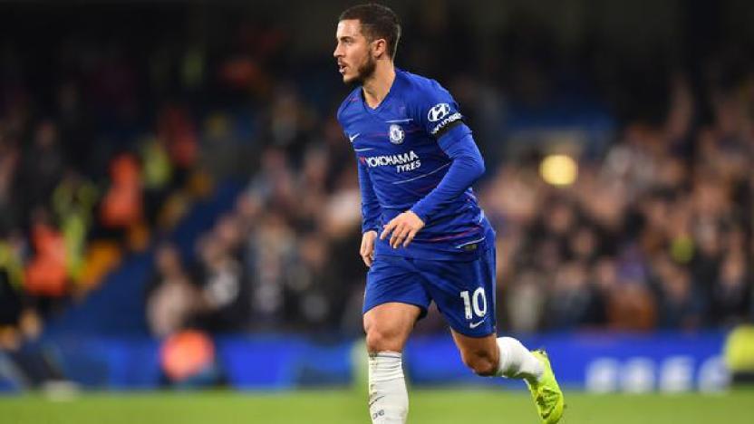 Eden Hazard dari Chelsea