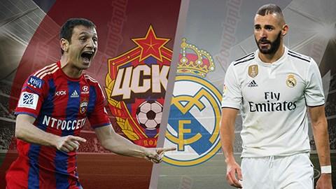 Hasil Liga Champions Real Madrid Vs Cska Moscow