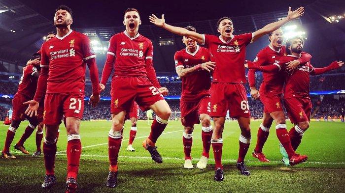 Liverpool Masuk ke babak 16 besar Liga Champions