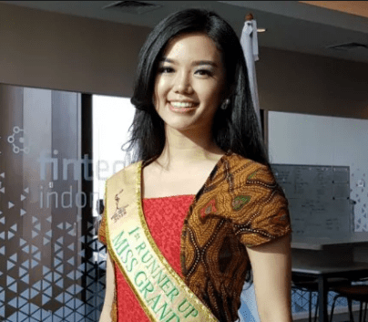 Vivi Wijaya 1st Runner Up Miss Grand Indonesia 2018 Asal Sumatera Utara