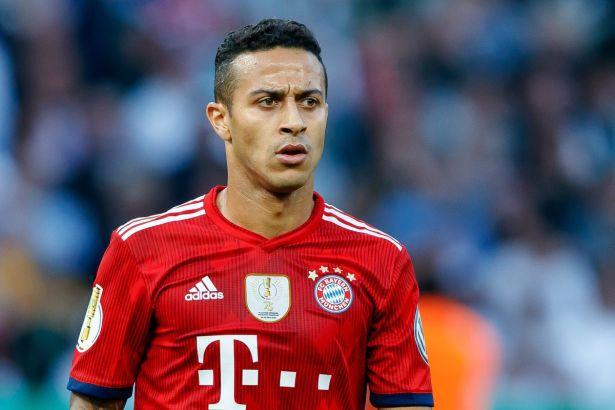 Thiago Alcantara dari Bayern Munich