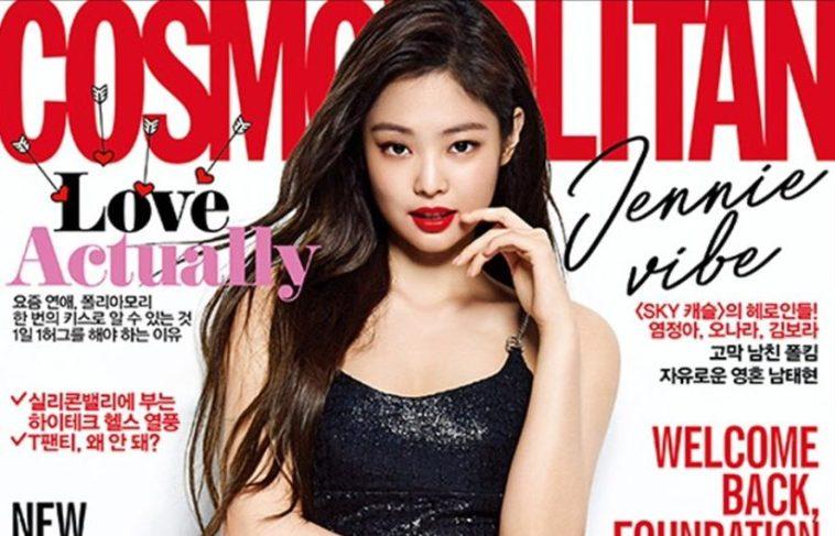 Jennie Tampil Seksi Di Sampul Majalah