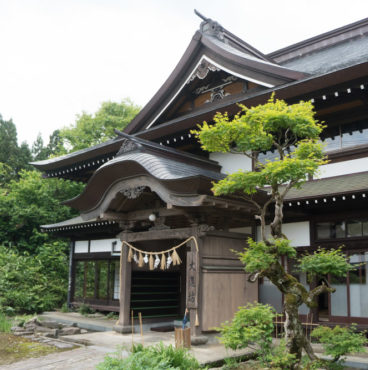 Dewa Sanzan Accommodation: Daishinbo Pilgrim Lodge on Mt. Haguro