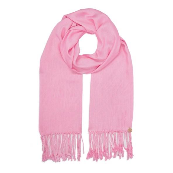 Pashmina Shawl - Soft-Touch - Baby Pink