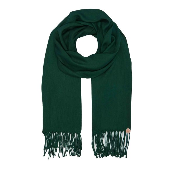 Pashmina Shawl - Soft-Touch - Forest Green